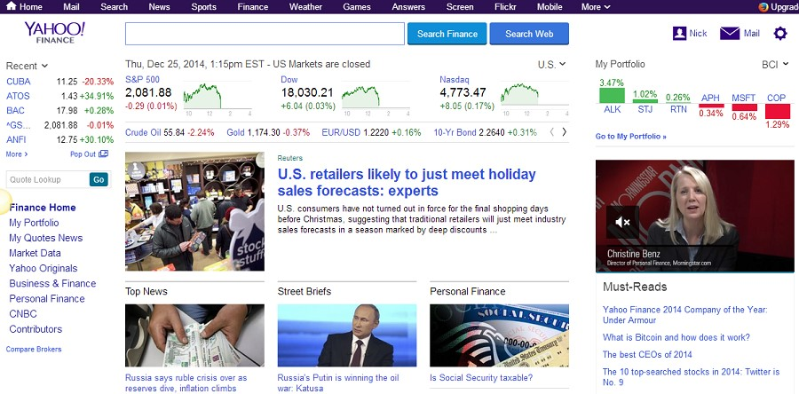 yahoo-stocks