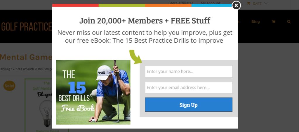 free optin gift email marketing