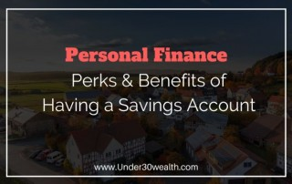 benefits of a savings account