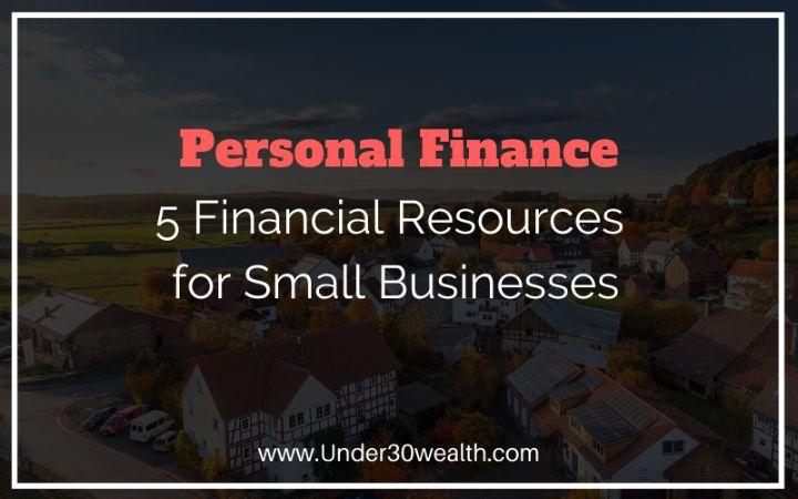 small business financial resources